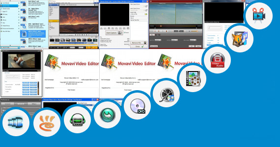 Software collection for Tamil Video Cut Song