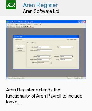 Aren Register