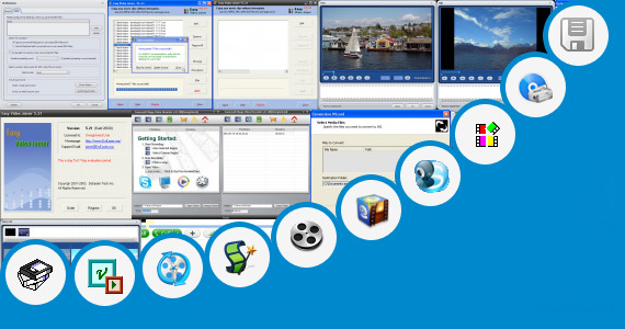 Software collection for B F Video Movee