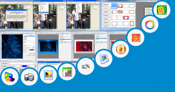 Software collection for Photo Frame Application For Java240 320