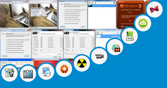 Software collection for Bf Open Video Mobi