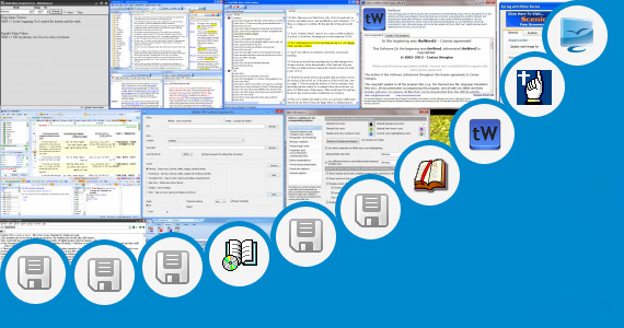 Software collection for Jesus Bible Telugu Words Images