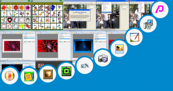 Software collection for Photo Edit Coat Pent Frame