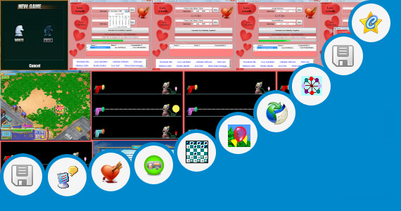 Software collection for Amusement Park Design Software