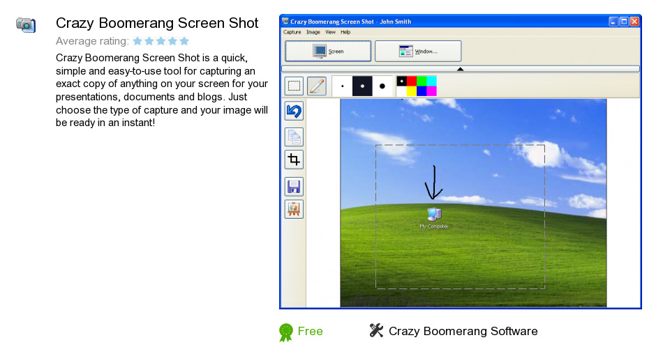 Crazy Boomerang Screen Shot