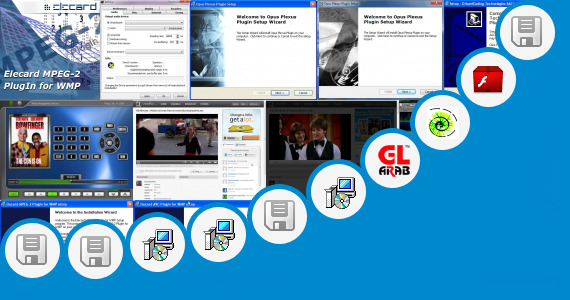 Software collection for Plugin Streaming Maxthon