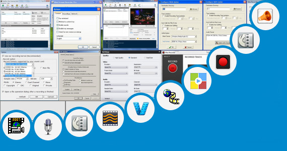 Software collection for Record Video Broadcast From Livejasmin