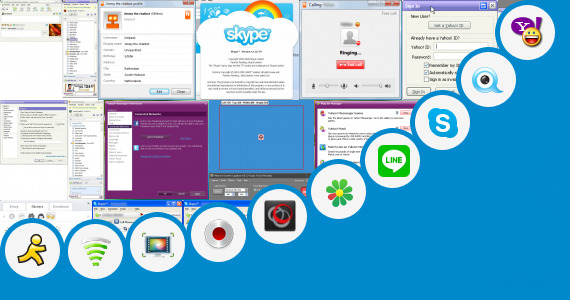 Software collection for Mobil Chat Y Video J2me