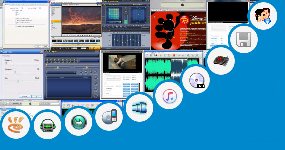 Software collection for Bangladeshi Movie Cut Pitch Song