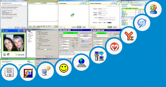 Software collection for Videofrog Chat Room