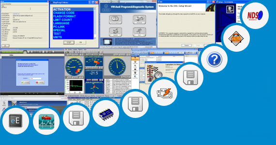 Software collection for Toad Car Diagnostic