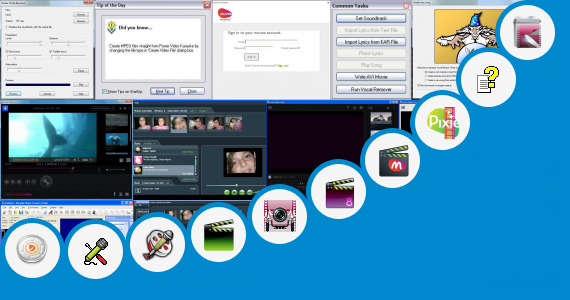 Software collection for Bf Muve Video Songs