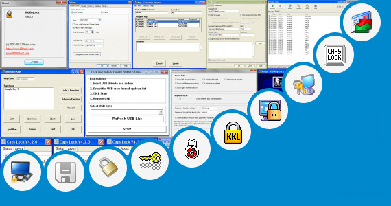 Software collection for Lenovo Lock Key