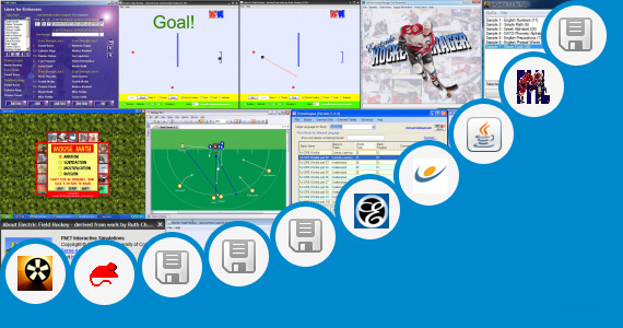 Software collection for Hockey Drill Freeware Program