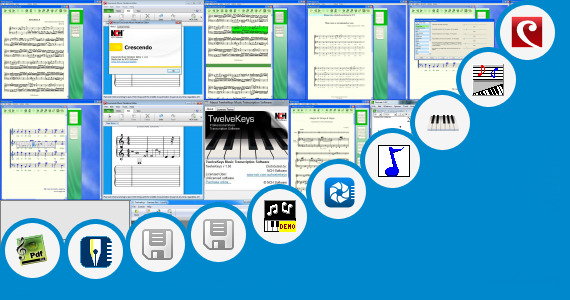 Software collection for Apk Crescendo Free Music Notation Editor