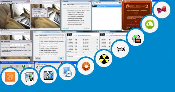 Software collection for Open Saxe Videos