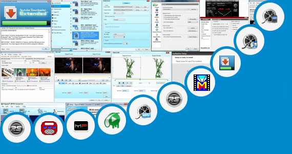 Software collection for Video Song Film Hindi Biaf