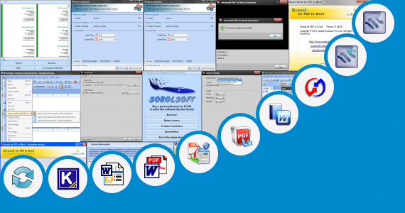 Software collection for Bus Ticket Word Format Editable