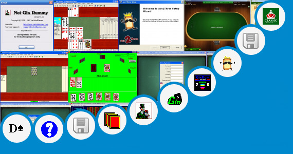 Software collection for Indian Rummy Cards Game Jar