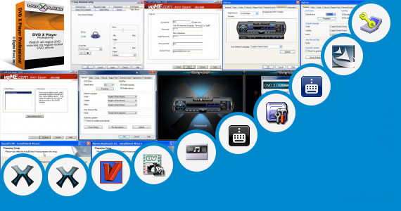 Software collection for Sony Vaio Programy Vaio