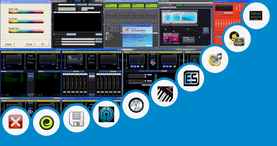 Software collection for Vxp Virtual Mixer