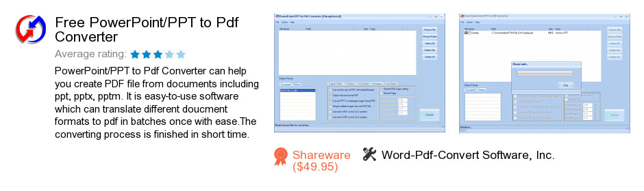 Free PowerPoint/PPT to Pdf Converter