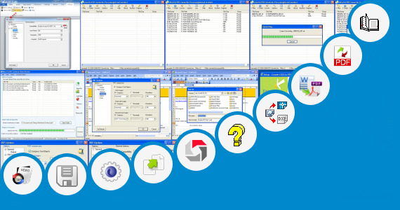 Software collection for Tbil Font Converter