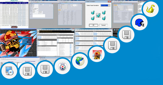 Software collection for Wapin Football Game