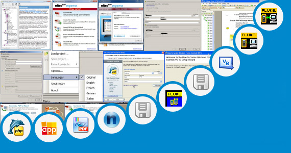 Software collection for Fluke View Forms Basic