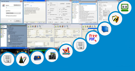 Software collection for E2 Shop System Manual