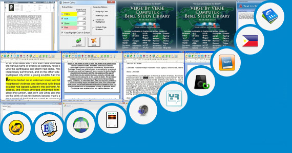 Software collection for English Tagalog Ebooks