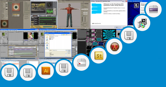 Software collection for Xplode For Adobe Premier Pro Cs3
