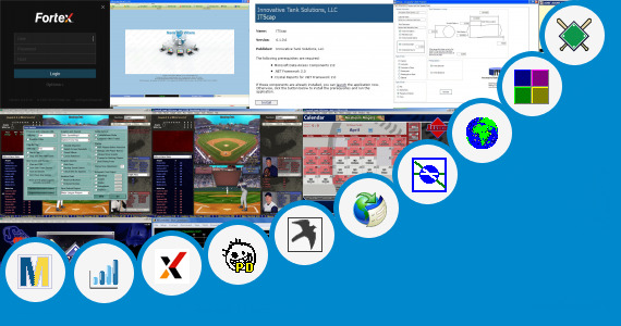 Software collection for Baseball Depth Chart Software