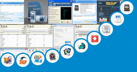 Software collection for 3gp Video Sixxi