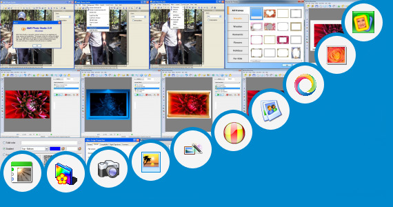 Software collection for Photo Frame Application