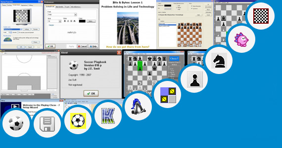 Software collection for Game Strategi Format Vxp
