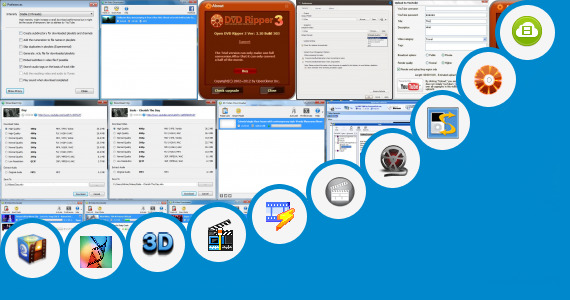 Software collection for Open B F New Video Movie