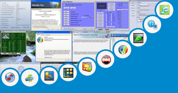Software collection for Sony Six Promotion Song