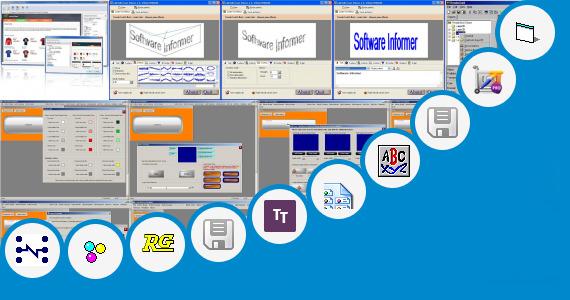 Software collection for Patrika Border Design