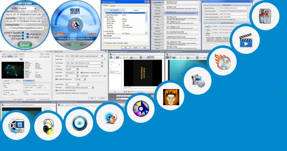Software collection for Single Part Low Mb Movie