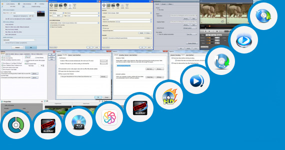 Software collection for Gujrati Blu Movis