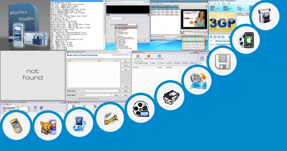 Software collection for 3gp Video In 240 400 Screen