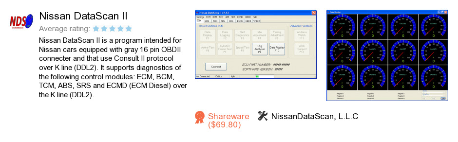 Nissan DataScan II