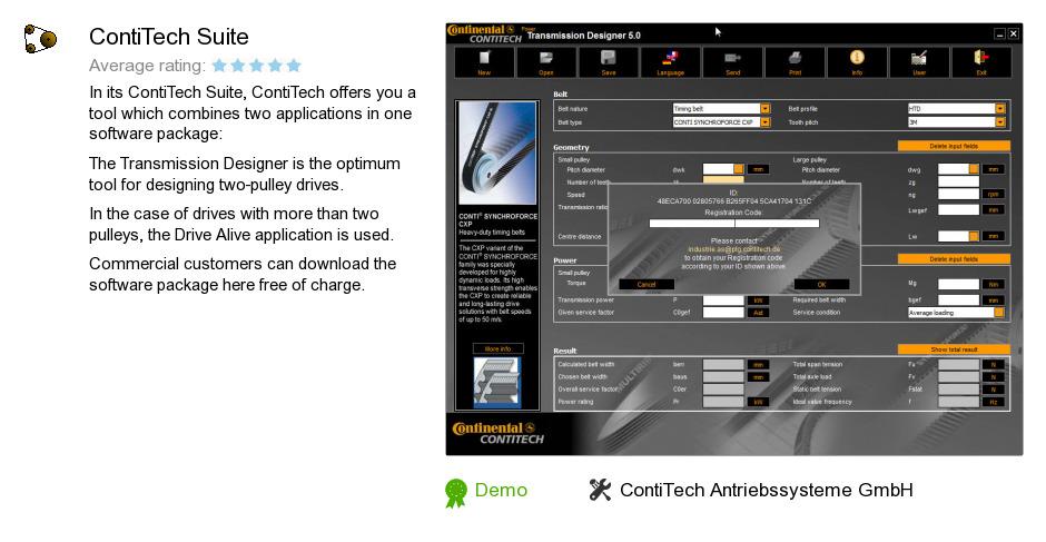 ContiTech Suite