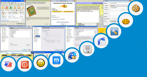 Software collection for Cookies Manager Maxthon