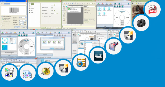 Software collection for Label Template Apli