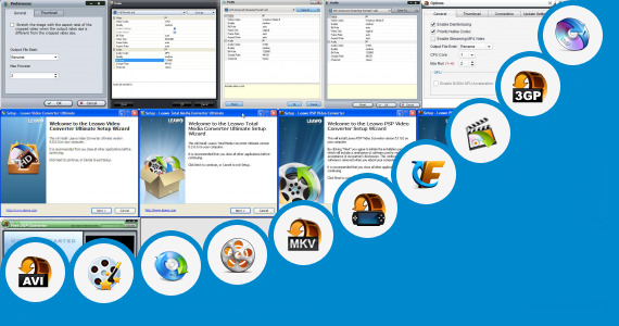Software collection for Leawo Converter Apk