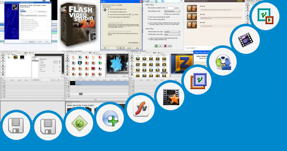 Software collection for Vivah Video Image Mix