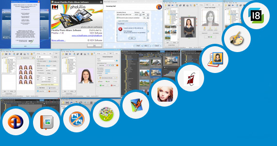 Software collection for Kannad Photo Editer Apps