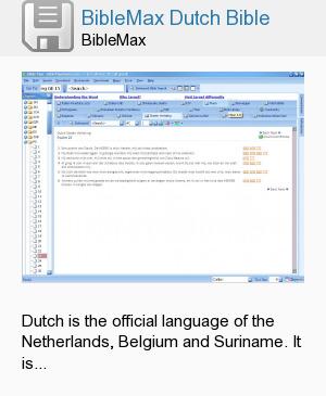 BibleMax Dutch Bible